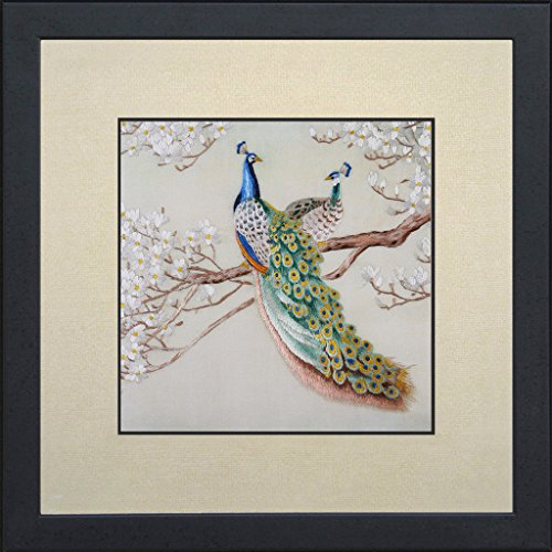Silk Embroidery Panel - 8