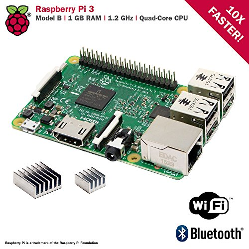 CanaKit Raspberry Pi 3 Kit with Clear Case and 2.5A Power Supply by CanaKit (Image #3)