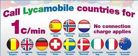 Lycamobile Sim Card for Ireland - Lyca Irish Sim Preloaded with 5 Euro  Credit!