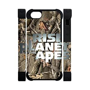 Hoomin Charming Confederal Camo Rise of the Planet of the Apes iPhone 5 Cell Phone Cases Cover Popular Gifts(Dual protective)