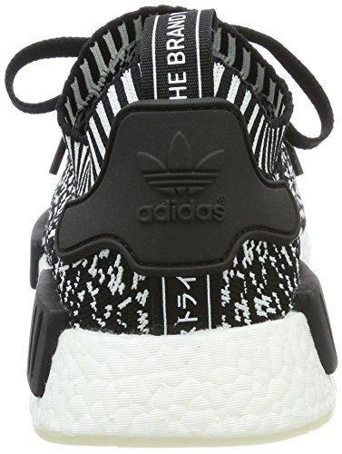 Adidas Mannen Nmd_r1 Pk Fitness Schoenen Zwart (negbas / Negbas / Ftwbla)