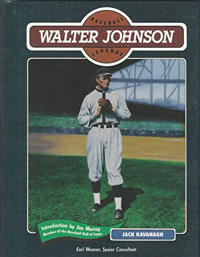 Walter Johnson (Baseball Legends Series)