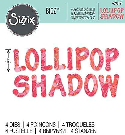 Stamp letter phrase lollipop #4963