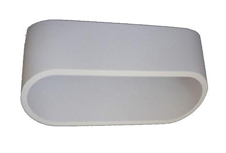 E led lampada applique led in alluminio bianco luce k°