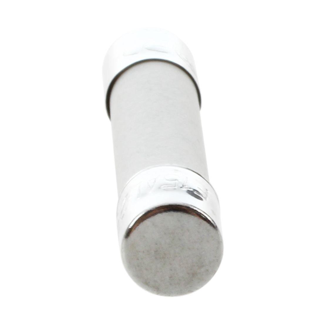 JK-2 10 Pcs AC 250V 16A Tube Fusible Coup Cylindrique Tube en C/éramique Fusible 6x30mm