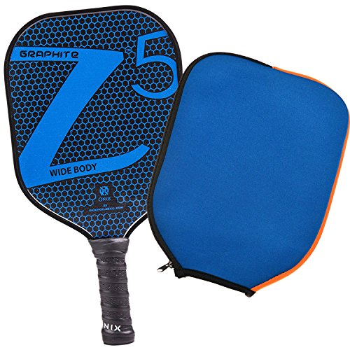 Onix Z5 Graphite Pickleball Paddle and Paddle Cover (Blue) || Gift Pack by Onix (Image #9)