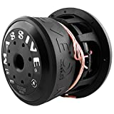 Massive Audio Hippo84-8 Inch Car Audio 1,000 Watt Hippo Series Competition Subwoofer, Dual 4 Ohm, 2.5 Inch V.C