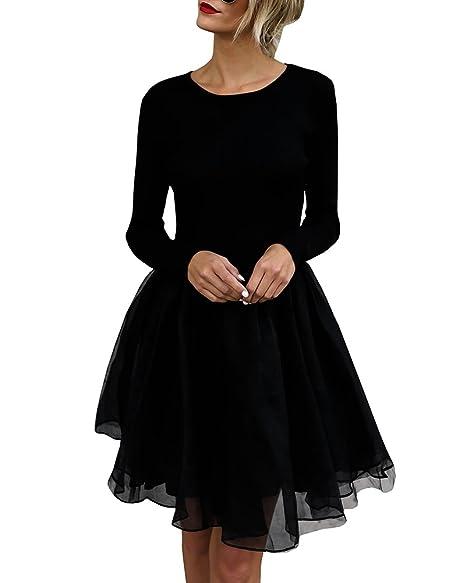 Amazon.com: Vestido ajustado para mujer, vestido de túnica ...