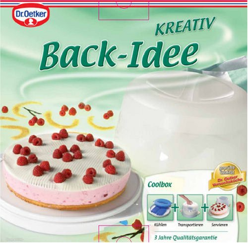 Dr oetker kuchen transport coolbox