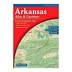 Delorme 240003 Arkansas Atlas and Gazetteer