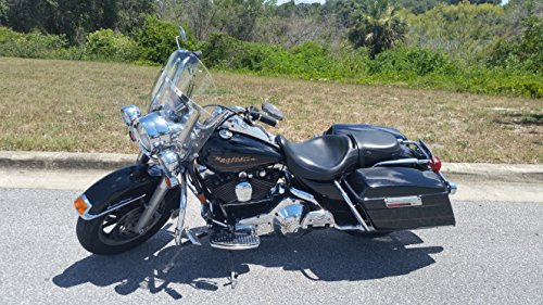 - Harley Davidson Road King clear shorty windshield 14.25