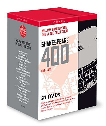 The Globe Collection : Shakespeare 400, 1616-2016.