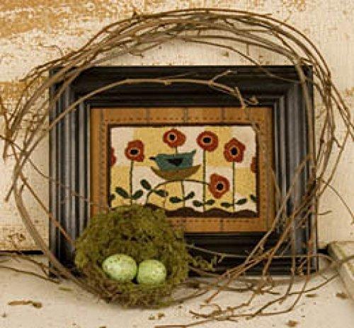Launching Spring 665 Punch Needle Pattern Threads That Bind Bird Nest Garden Punchneedle