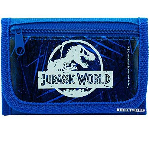 Jurassic World Blue Wallet (World Best Wallet Brand)