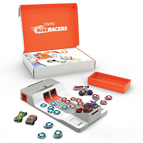 stem toys for preschoolers Osmo Hot Wheels MindRacers Game (iPad base required)
