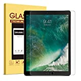 New iPad Pro 12.9 (2017) iPad Pro 12.9 Screen Protector - SPARIN Tempered Glass Multi-Touch Compatible Bubble-Free Anti-Scratch Screen Protector For 12.9-Inch iPad Pro (2015 - 2017 Release)