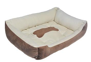 Sinland Cama para mascotas Cama para perros Cama para perros - Microfibra ultra-suave reforzada: Amazon.es: Coche y moto