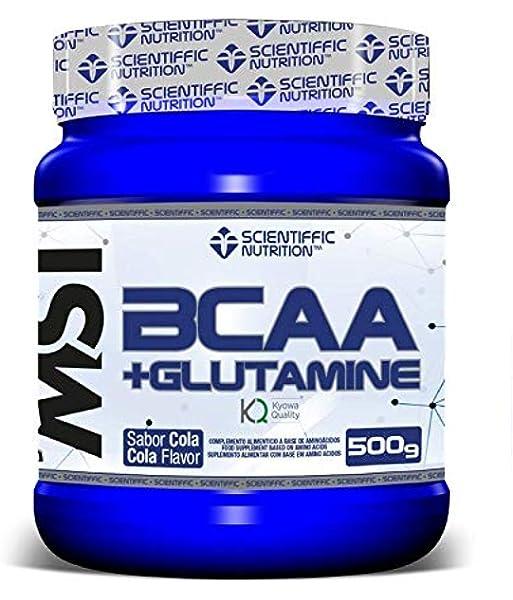 BCAA + Glutamine 500g Limón: Amazon.es: Salud y cuidado personal