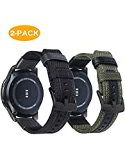 20mm 22mm Quick Release Leather Bands for Smart Watch by OTOPO