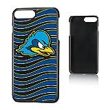 NCAA Delaware Fightin' Blue Hens UD Delaware Blue Hens Wave Slim Case, iPhone 8 Plus/7 Plus/6 Plus, Black