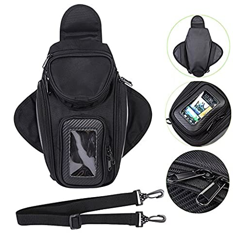 Motorcycle Tank Bag Waterproof with Motorbike Bag Universal Fuel Motorcycle Accessories Bag Outdoor for Yamaha Suzuki Kawasaki - Motorcycles Accessories