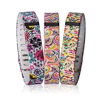 DDup Replacement Band for Fitbit Flex Wristband with Metal Clasp