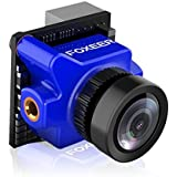 FOXEER nidici Predator Micro V2 FPV Camera 1000TVL 4:3 Screen 1.8mm Lens Super WDR DC 5V-40V Wide Voltage with Clearer Image Quality Brighter Dark Zone Low Latency for FPV Racing Drone (Blue)