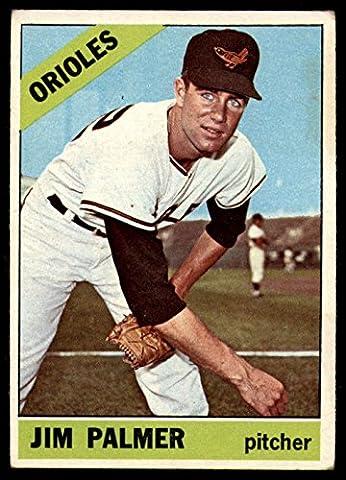 Baseball MLB 1966 Topps #126 Jim Palmer UER Excellent RC Rookie Orioles - Jim Palmer Baseball