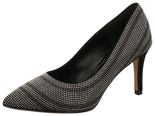 FRANCO RUSSO Women's 8402b Court Shoes NERO VER. 21