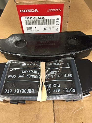 Genuine Honda Fr Brake Pad Kit 45022-SHJ-415 by Honda