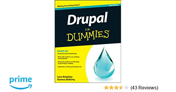 Edition drupal 2nd pdf dummies for
