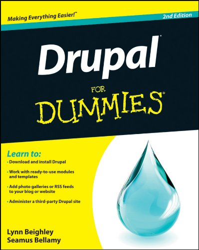 Book cover from Drupal For Dummies by Lynn Beighley