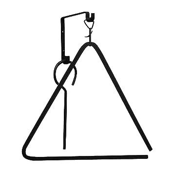 Amazon.com: Forged Metal Triangle Chuckwagon Dinner Bell: Musical ...