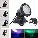 Xcellent Global 3.5W 36 LED Underwater Color Changing Aquarium Spot Light for Garden Pond Fish Tank Fountain Rockery Grass Land LD104
