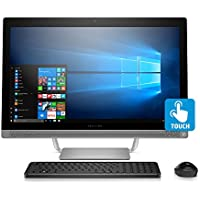 HP Pavilion 27-inch All-in-One Computer, Intel i5-7400T, 12GB RAM, 1TB hard drive, Windows 10, (27-a230, Silver)