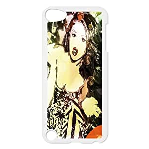 custom ipod touch5 Case, Selena Gomez durable case for ipod touch5 at Jipic (style 5)