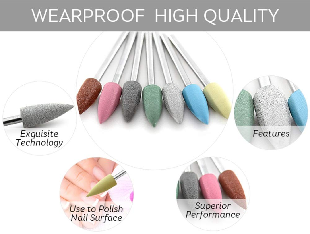 broca silicona manicura