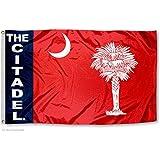 Citadel Bulldogs University Large College Flag
