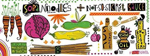 Wall Art Print entitled Soba Noodles + Not-So-Secret Sauce B
