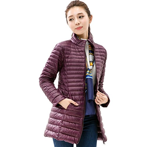 Fashion Outwear And Coat G Long Personality Winter Self Cute Section cultivation Lady Eiderdown Down Jacket Thin Down Autumn 8WHHTOn