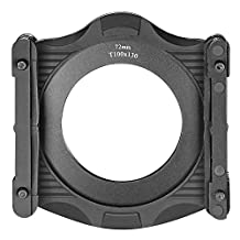 Neewer 100MM Square Z Series Filter Holder and Aluminum 72MM Lens Adapter Ring for Lee Hitech Singh-Ray and Other Cokin Z Series 100MM Filters