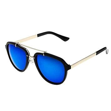 YiWu Gafas de Sol Mujer Marea Estrella Color película Gafas ...