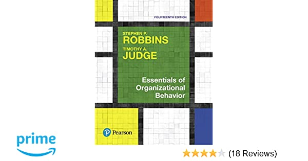 Essentials Of Organizational Behavior 14th Edition