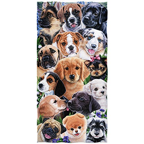 Puppy Collage Cotton Beach Newland product image