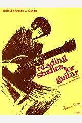 Reading Studies for Guitar (Berklee Series - Guitar, B45) Paperback