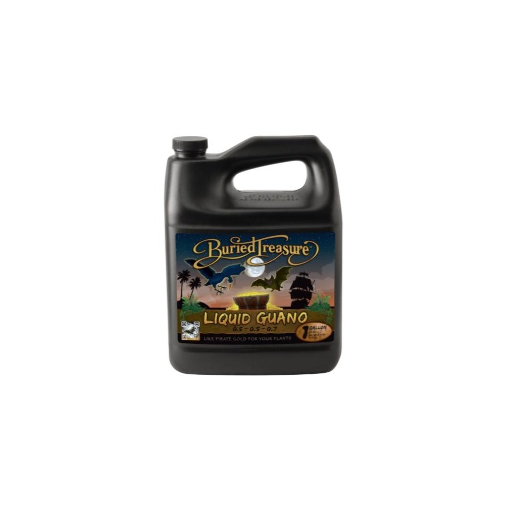 Sunlight Supply Buried Treasure Liquid Guano — 0.5-0.5-0.7 Formula, Gallon
