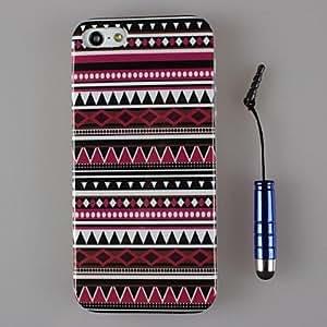 GDW El diseño del arte hermoso del tpu de concha blanda y la pluma capacitancia para el iphone 5 / 5s (colores surtidos)