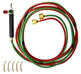 Smith Little Torch Torch Kit 5 Tips #3-7 Acetylene Propane Natural Gas MAPP Hydrogen Jewelry Repair Metal Braze Solder Model 23-1001D