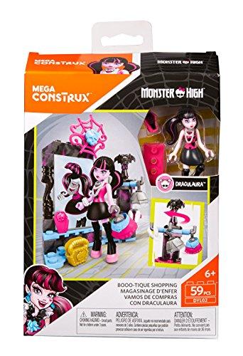 Monster High Shopping (Mega Bloks Mega Bloks Monster High Booo-tique Shopping Building Set Building)