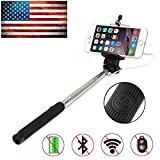 Bestdeal® NEW Extendable Wired SELFIE Stick with INTEGRATED Remote Button and Universal Phone Holder Suitable for Acer CloudMobile & Liquid E600 & Liquid E700 & Liquid E1 & Liquid E2 & Liquid E3 & Liquid E600 & Liquid E700 & Liquid Gallant & Liquid Gallant Duo & Liquid Jade & Liquid Jade & Liquid Jade S & Liquid S1 & Liquid S2 & Liquid X1 & Liquid Z200 & Liquid Z4 & Liquid Z5 & Liquid Z500 Smartphone - Fully Adjustable Handheld Monopod 8